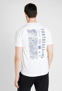 adidas Performance - PARLEY TEE REGULAR FIT T-SHIRT - Funktionsshirt - white - 2