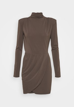 ABITO DRESS - Juhlamekko - brown