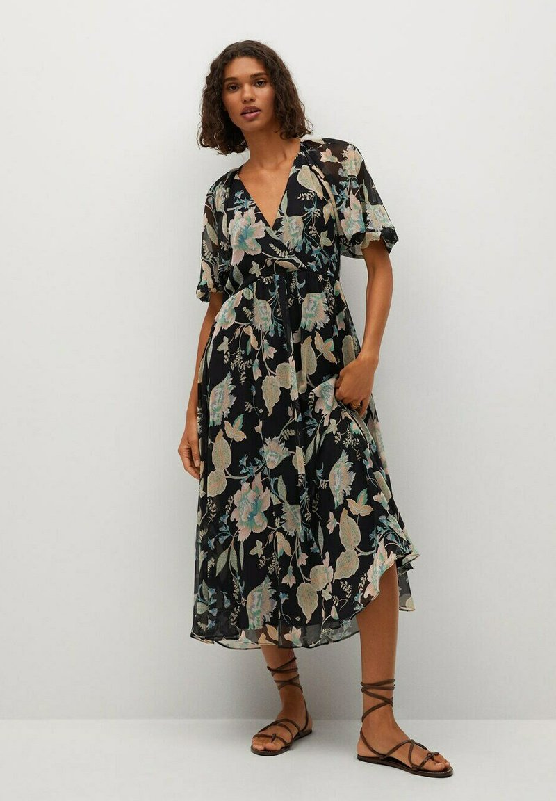 Mango - POISON - Day dress - svart