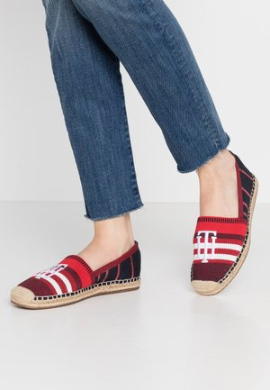 RANA - Loafers - red/white/blue