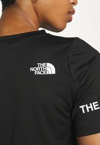 The North Face - T-shirt con stampa - black - 4