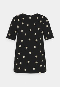 Marks & Spencer London - STRAIGHT TEE - Triko s potiskem - black - 1