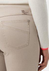 BRAX - STYLE PAMINA - Trousers - sand - 4