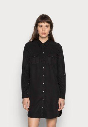 VMSILLA SHORT DRESS - Vestido camisero - black