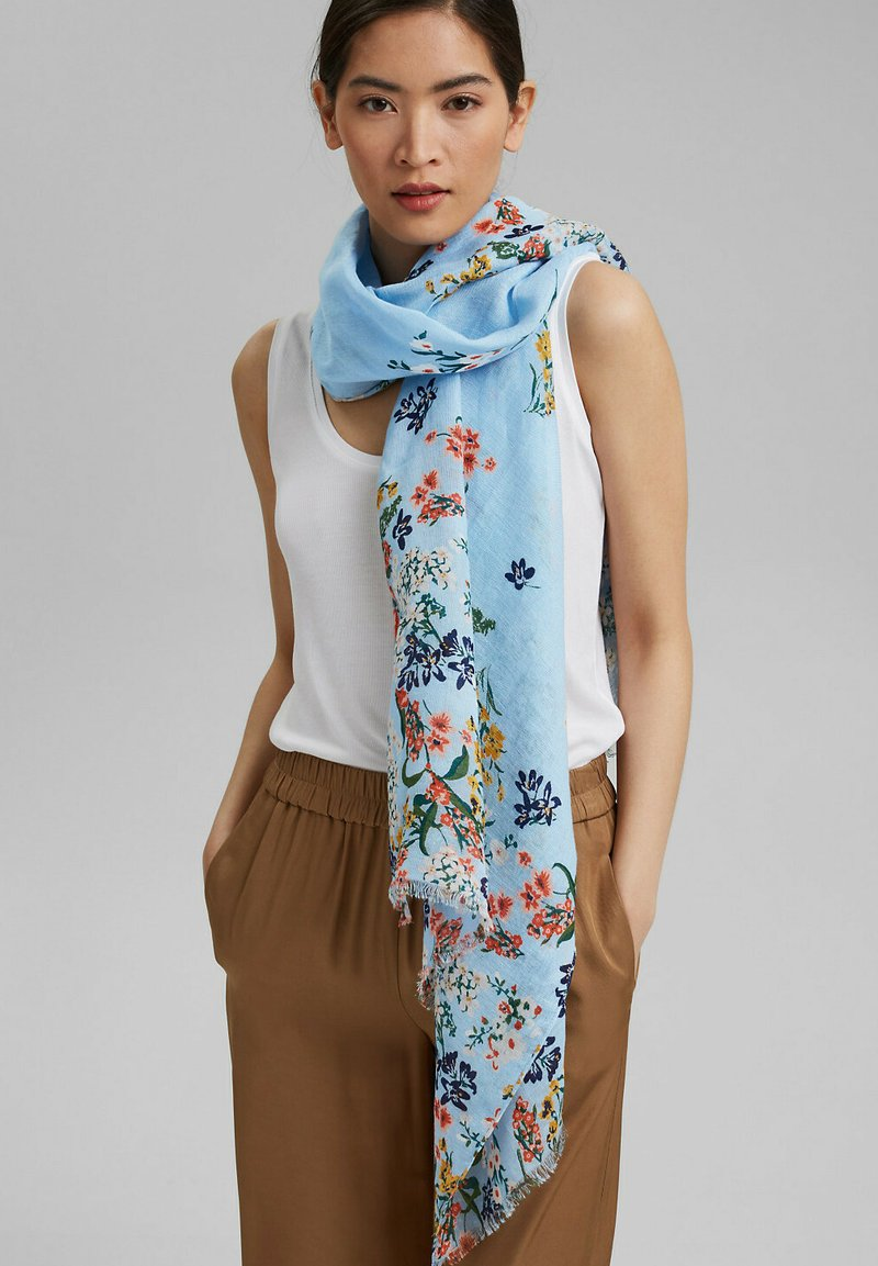Esprit - Foulard - light blue