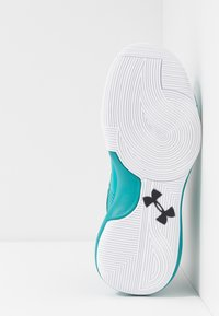 Under Armour - LOCKDOWN 4 - Basketball shoes - teal rush/black - 4