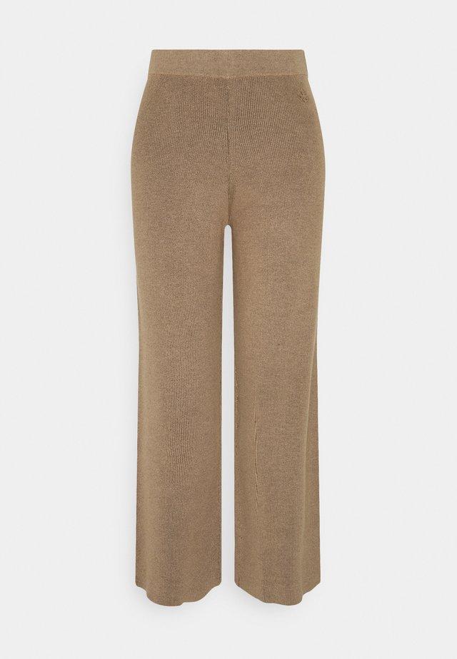 BELIS - Trousers - golden beige