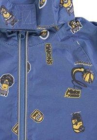 Minions - MATSCH UND BUDDELANZUG SET-Waterproof jacket - Regenbroek - marine print - 3