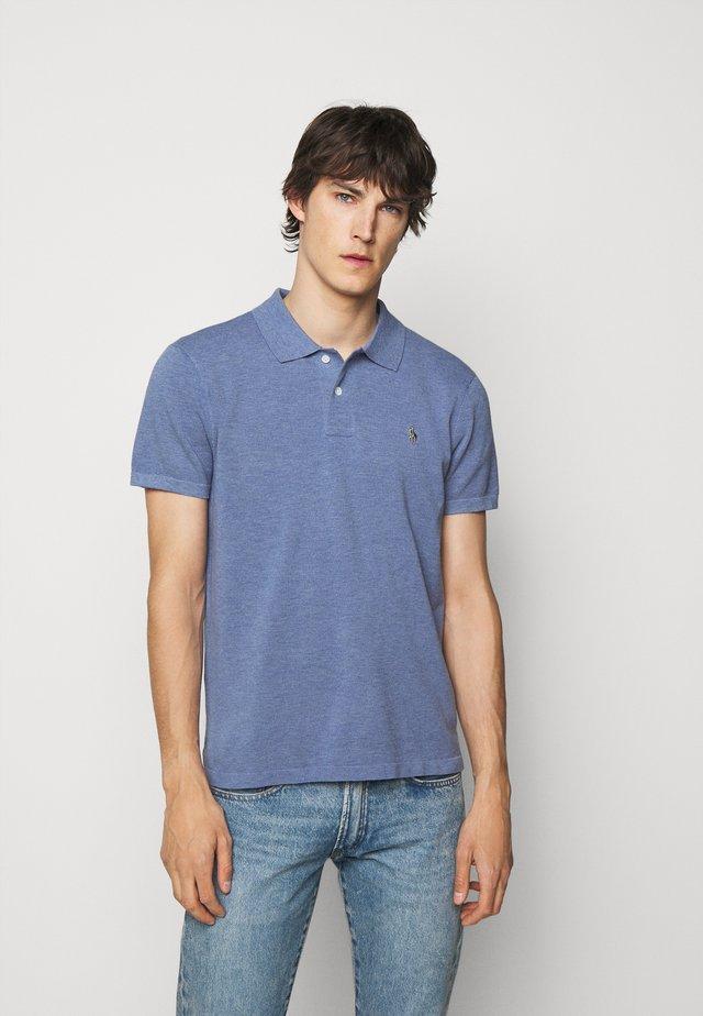 Poloshirt - lattice blue heat