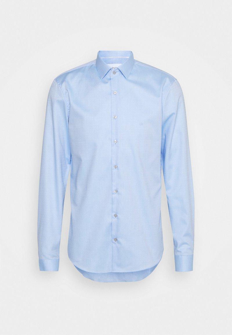 Calvin Klein Tailored - DOBBY EASY CARE SLIM SHIRT - Formal shirt - blue