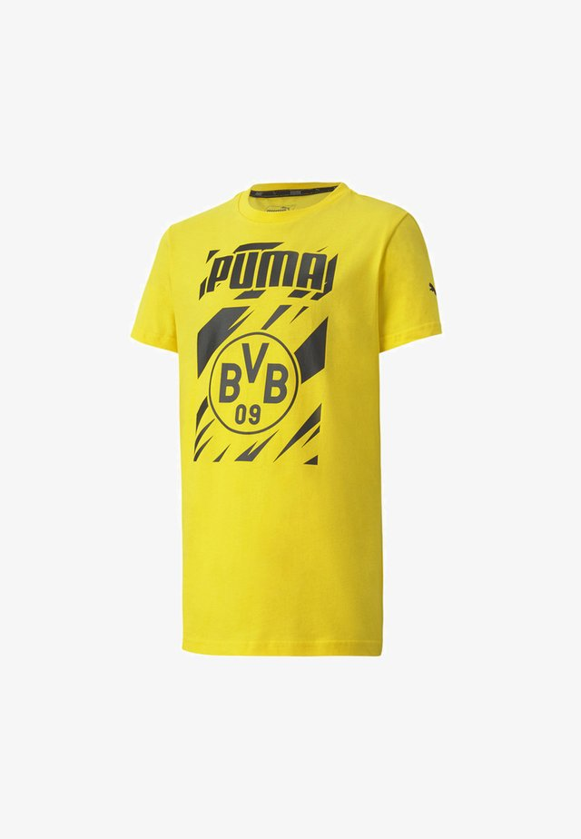 BVB FTBLCORE GRAPHIC YOUTH FOOTBALL - Club wear - cyber yellow-black