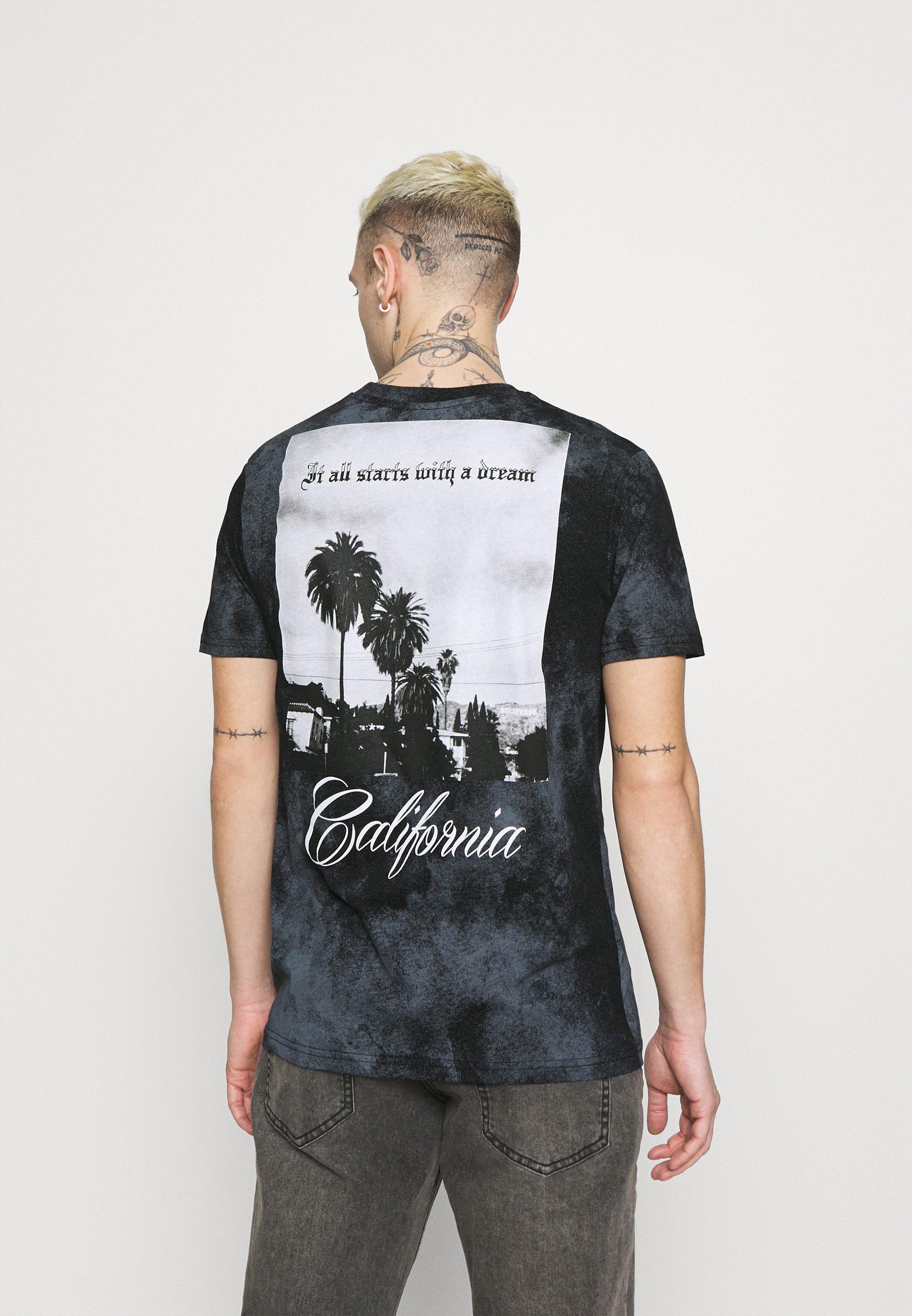 Men TIE DYE TEE - Print T-shirt