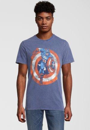 MARVEL CAPTAIN AMERICA - Print T-shirt - blau