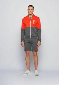 BOSS - SKAZ  - Zip-up sweatshirt - grey - 1