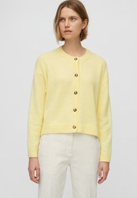 Marc O'Polo - ROUND NECK - Cardigan - bleached sun - 0