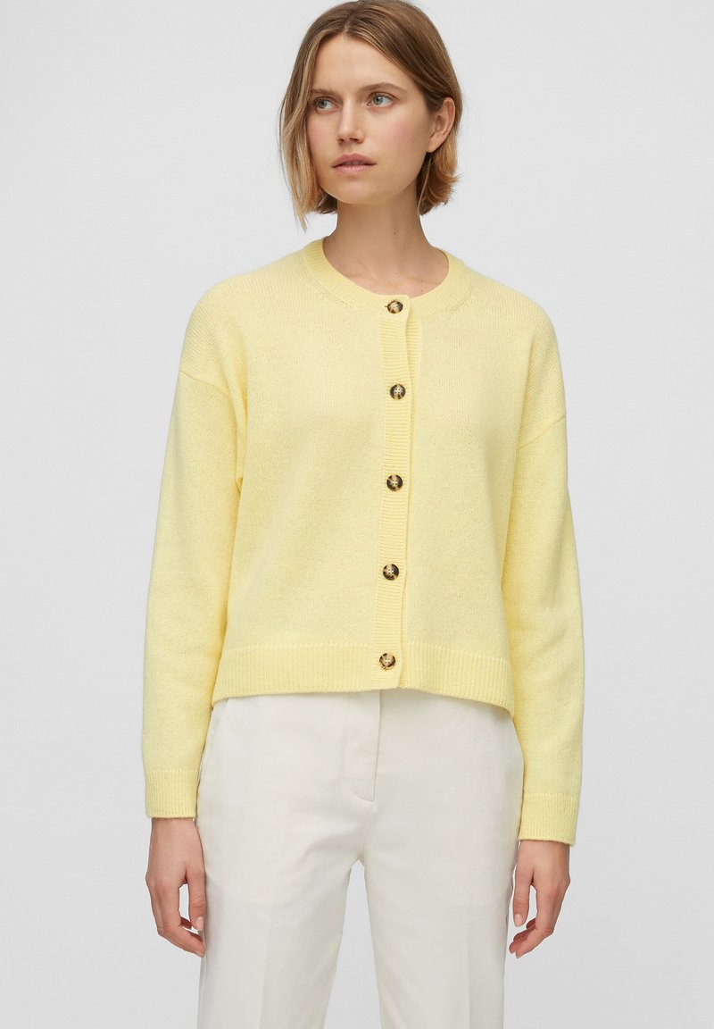 Marc O'Polo - ROUND NECK - Cardigan - bleached sun