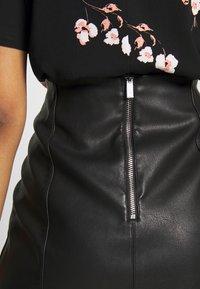 New Look - Áčková sukně - black - 4