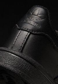 adidas Originals - SUPERSTAR CF  - Baby shoes - core black - 6