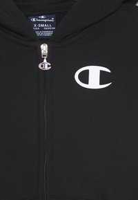 Champion - LEGACY AMERICAN CLASSICS HOODED FULL ZIP - Bluza rozpinana - black