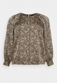 VMBILLI BUTTON - Blouse - macadamia/billi