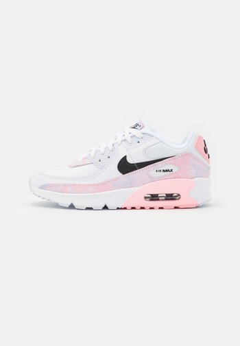 AIR MAX 90 UNISEX - Sneakers laag - white/black/arctic punch
