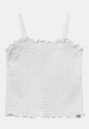 BARE SMOCKED  - Top - white