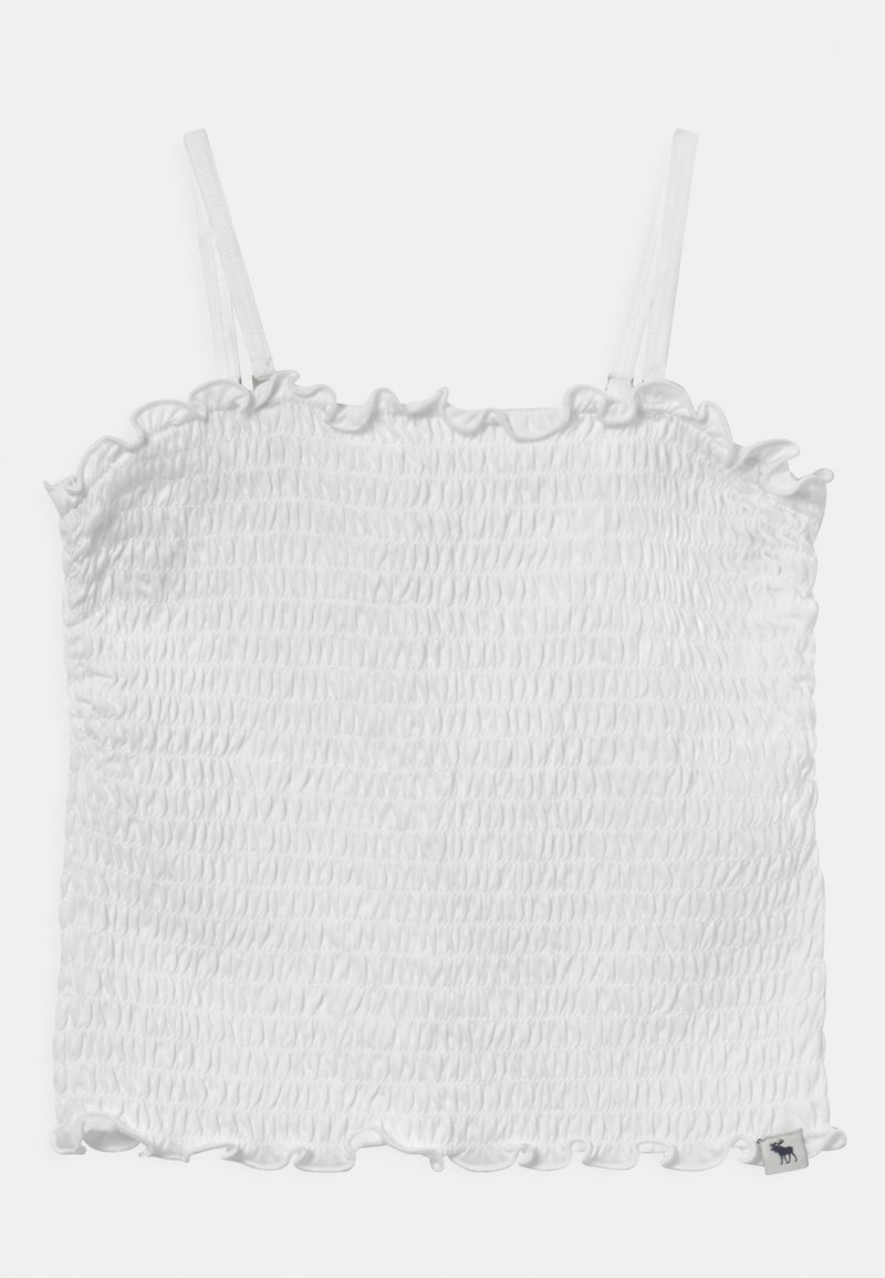 Abercrombie & Fitch - BARE SMOCKED  - Top - white