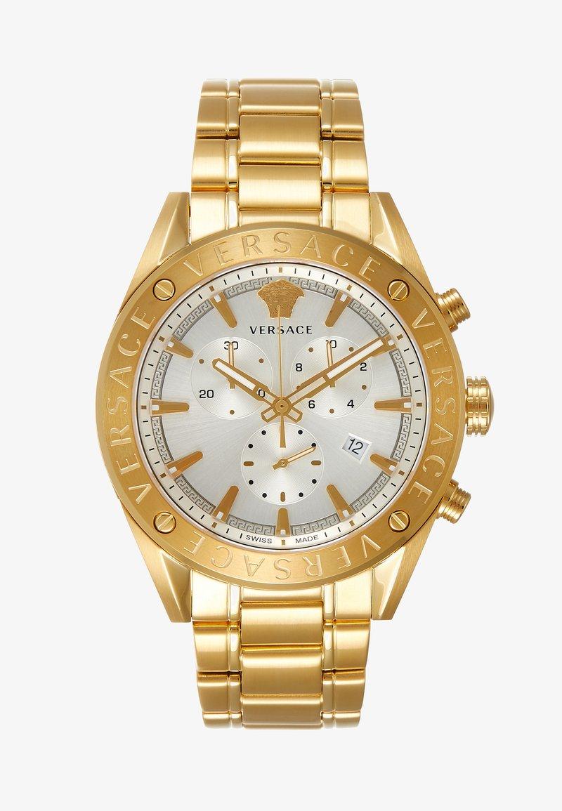 Versace Watches - V- CHRONO - Zegarek chronograficzny - gold-coloured