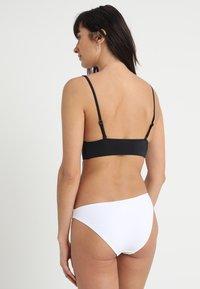 Anna Field - 2 PACK - Bas de bikini - black/white - 2