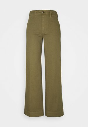 FULL LENGTH WIDE LEG - Jeans relaxed fit - olive