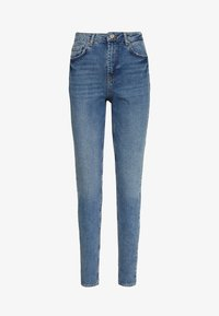 PCLEAH MOM - Jeansy Relaxed Fit - medium blue denim