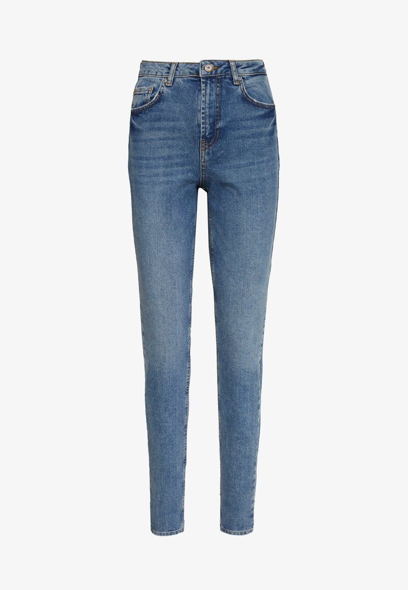 PIECES Tall - PCLEAH MOM - Jeansy Relaxed Fit - medium blue denim
