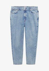 Mango - MOM - Slim fit jeans - mittelblau - 4