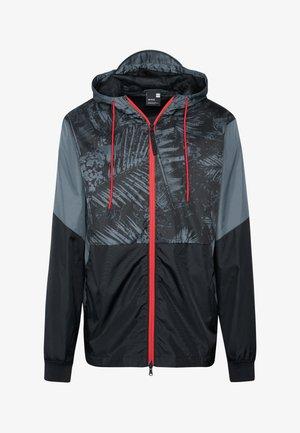 PROJECT ROCK FIELD HOUSE JACKET - Waterproof jacket - black/pitch gray