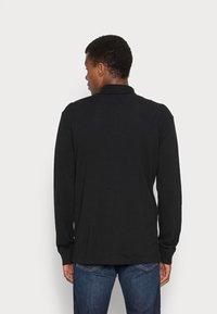 Tommy Jeans - CLASSICS LONGSLEEVE - Polo shirt - black - 2