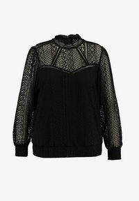 MS Mode - Blouse - black - 4