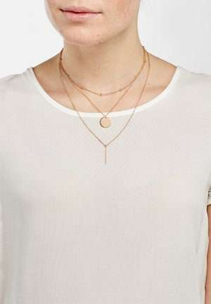 Necklace - rose goldfarbend