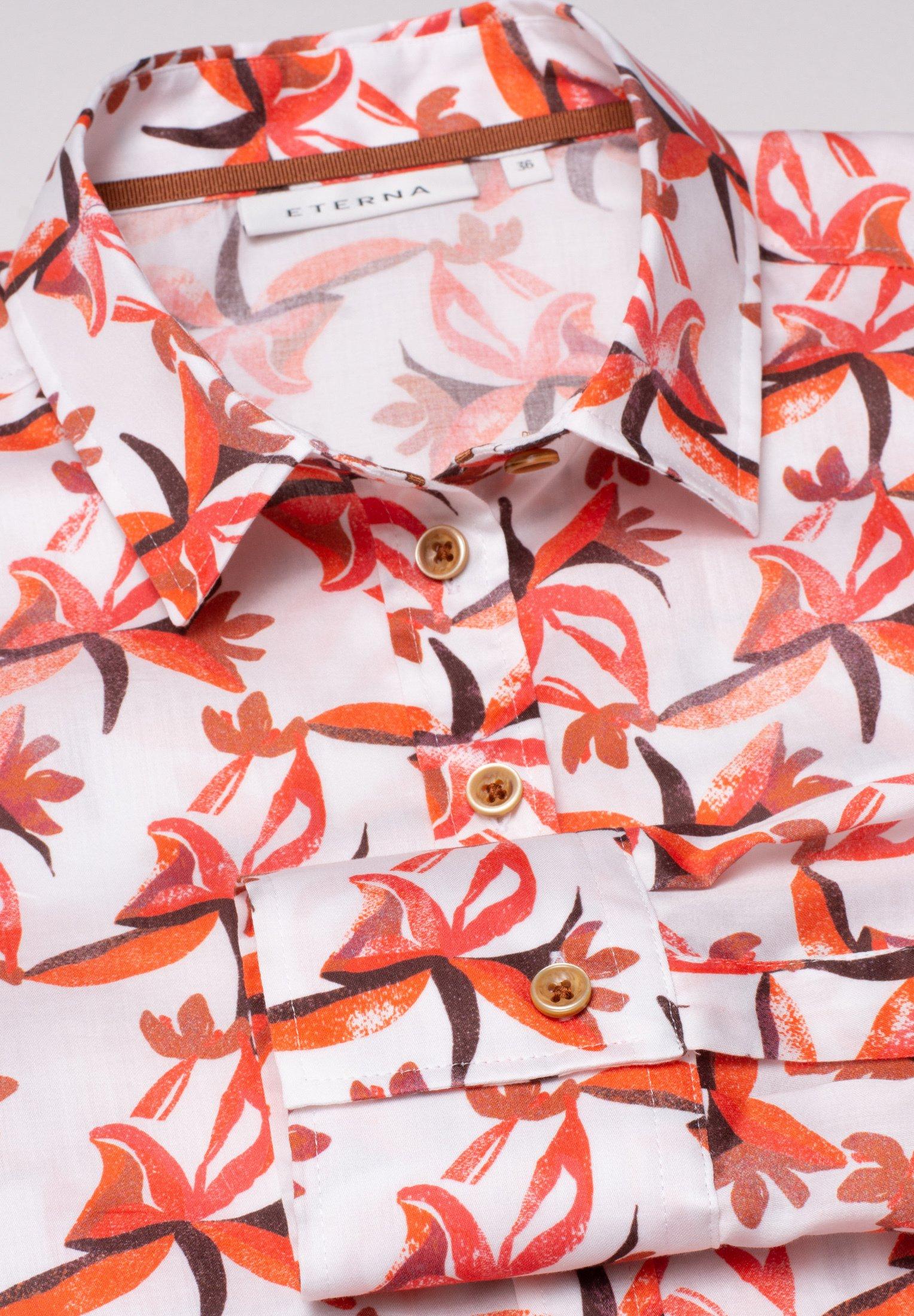 Eterna ETERNA - Overhemdblouse - rot/orange - Dameskleding AAA-kwaliteit