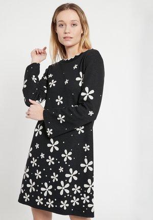 BELWA - Day dress - schwarz-weiß