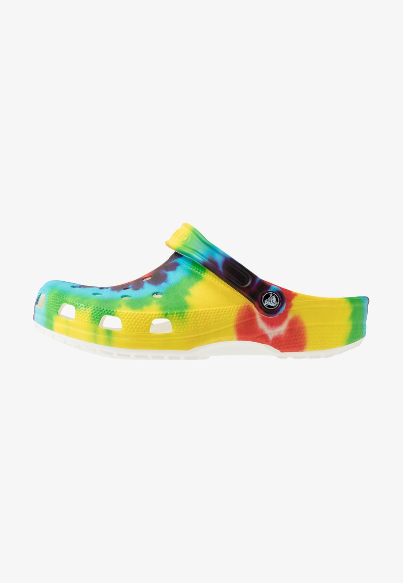 Crocs - CLASSIC TIE DYE GRAPHIC UNISEX - Drewniaki i Chodaki - multicolor