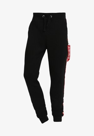 JOGGER TAPE - Tracksuit bottoms - black