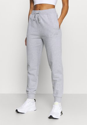 CUFF PANT - Pantalon de survêtement - light melange grey
