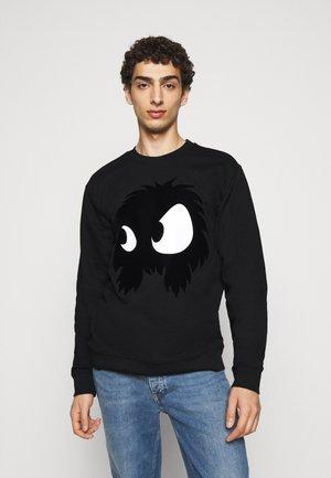 Sweatshirt - darkest black