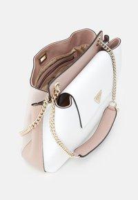 Guess - SANDRINE SHOULDER SATCHEL - Across body bag - white/multi - 2