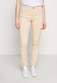edc by Esprit - UTILITY - Trousers - sand - 0