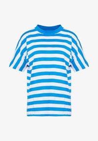 Won Hundred - BROOKLYN STRIPE - Print T-shirt - imperial blue / white - 4