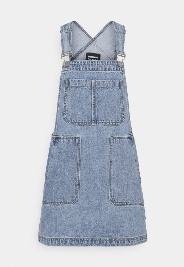 JADE PINAFORE DRESS - Vestito di jeans - light retro