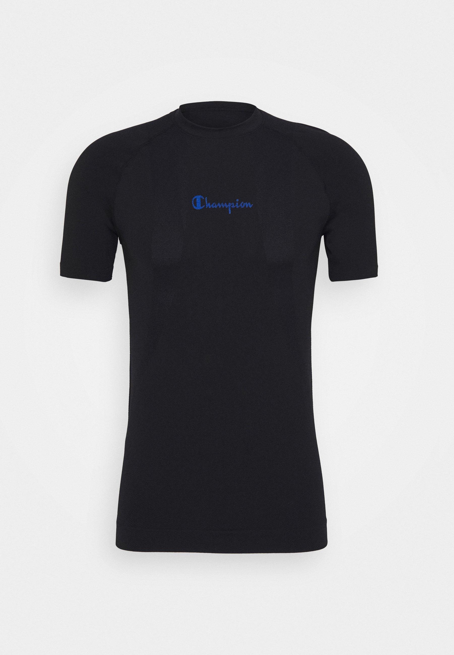 Champion SEAMLESS T shirts med print neon blueneonblå