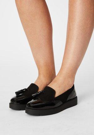 GAMBO - Slip-ons - black