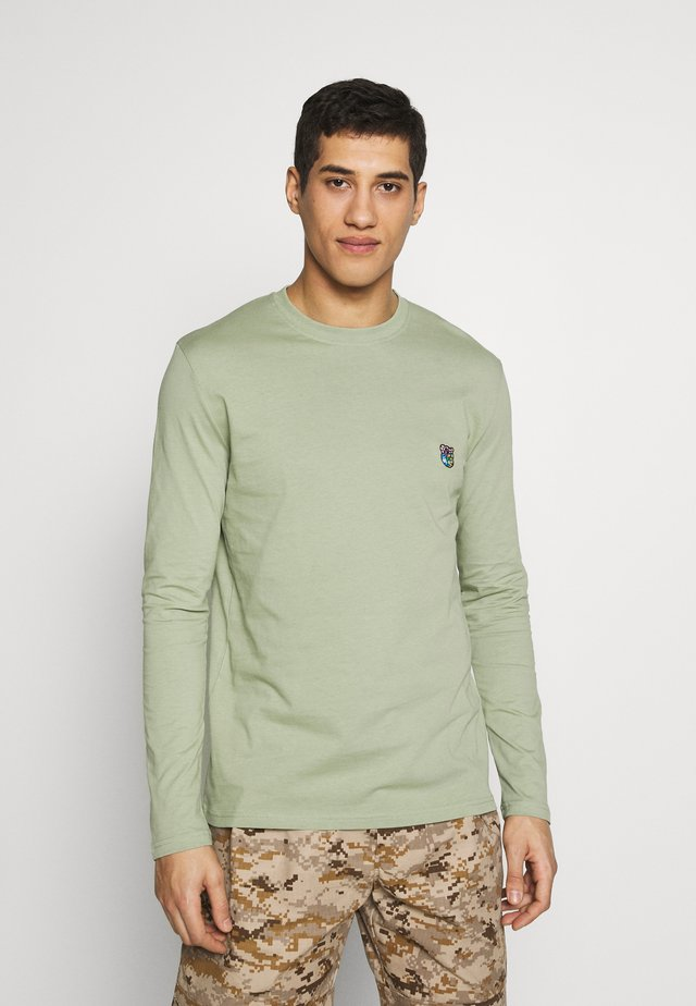 DAVID - Langærmede T-shirts - faded green